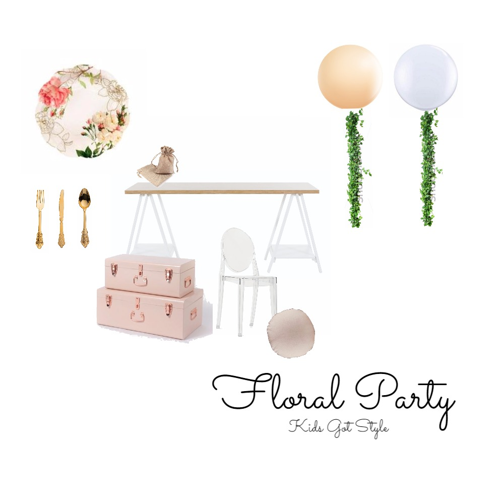 Floral Party Mood Board by Gotstyle on Style Sourcebook