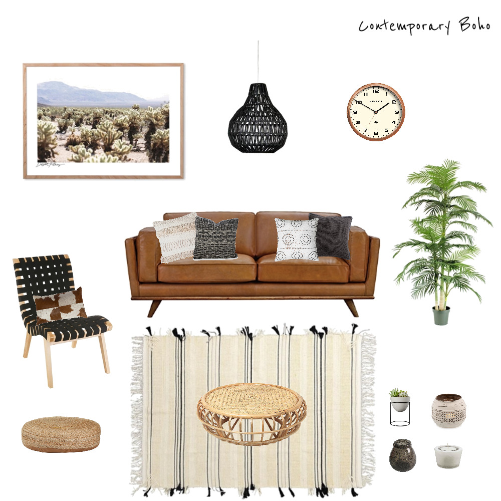 Contemporary Tribal Mood Board by meganabbott.creative on Style Sourcebook