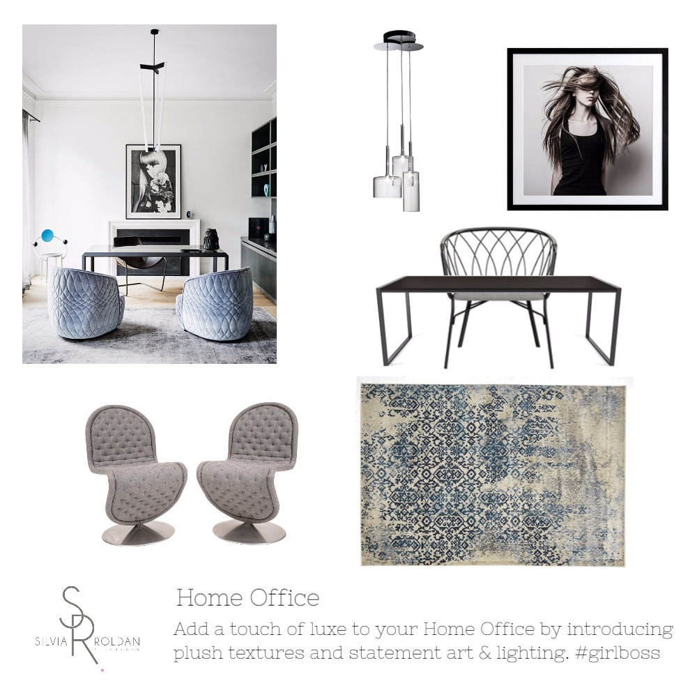 Home Office Mood Board by Silvia Roldan Interiors on Style Sourcebook