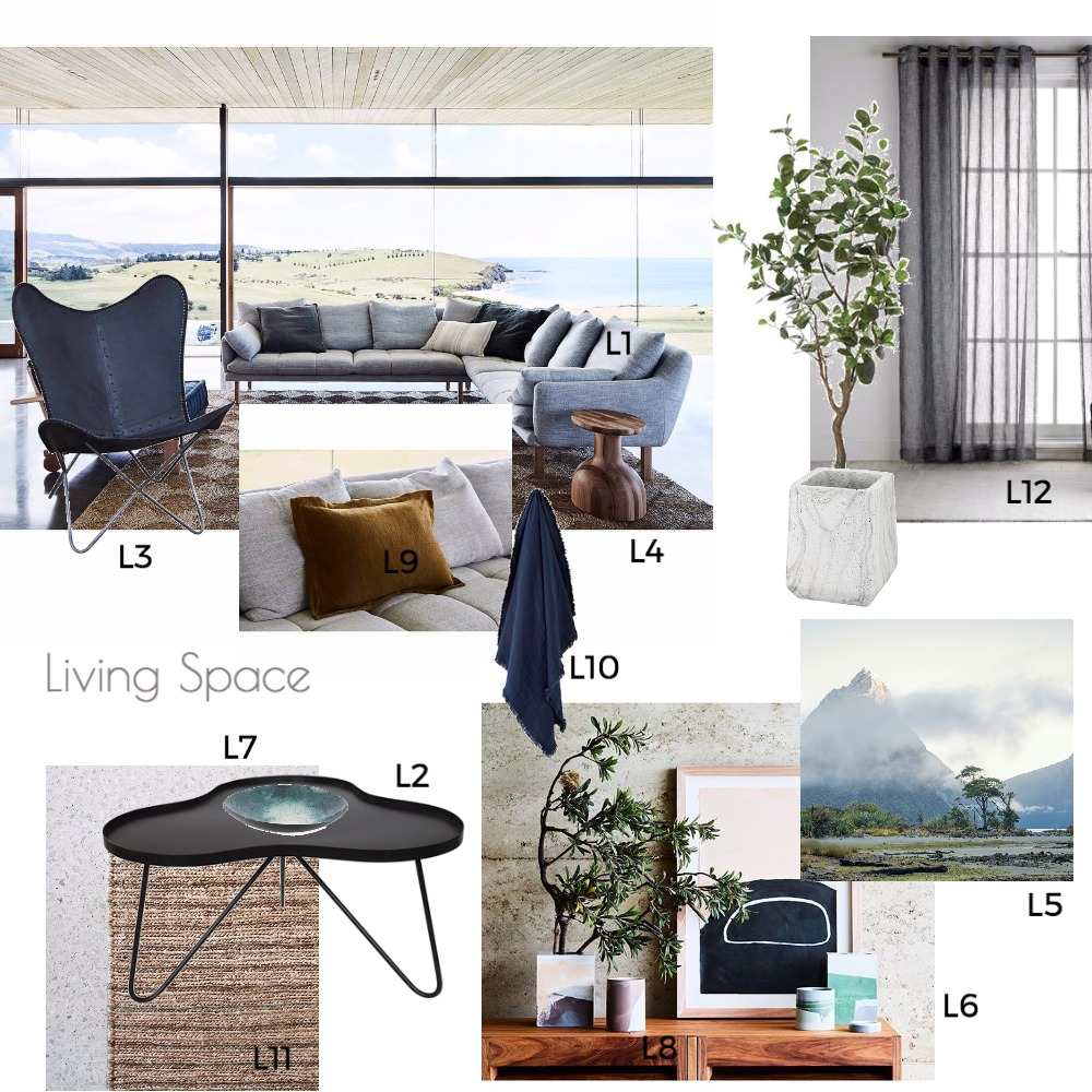 Lounge Space Mood Board by shuyi on Style Sourcebook