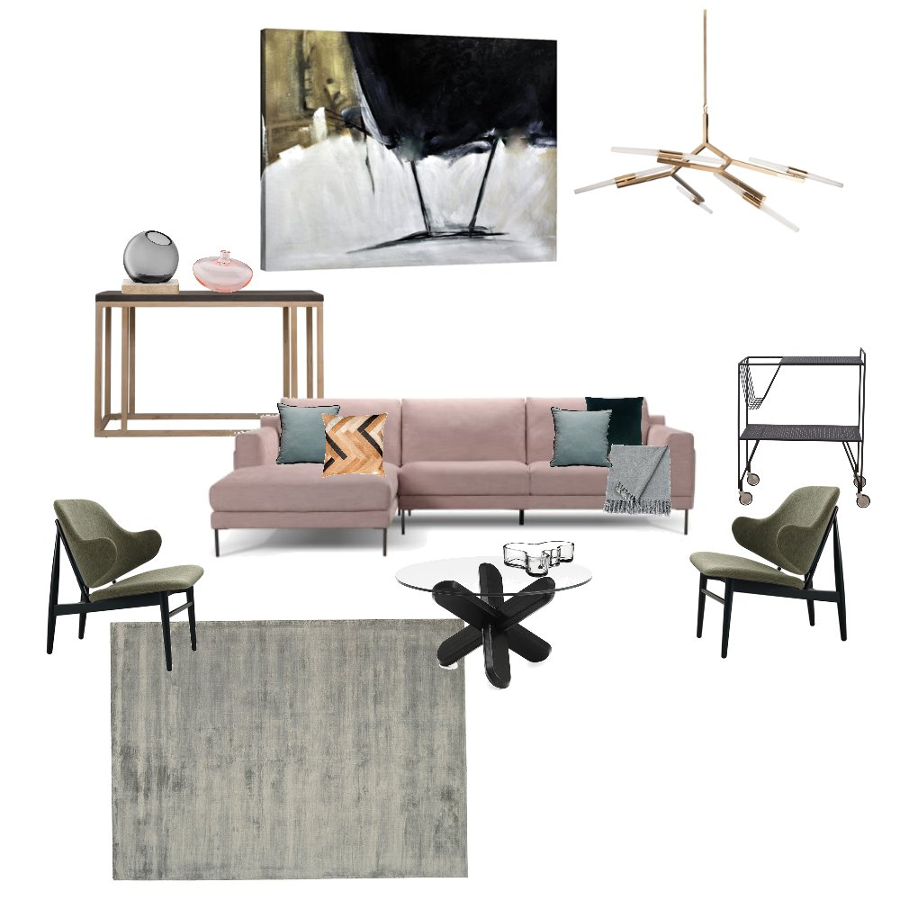 Living Room Interior Design Mood Board by mazmis on Style Sourcebook