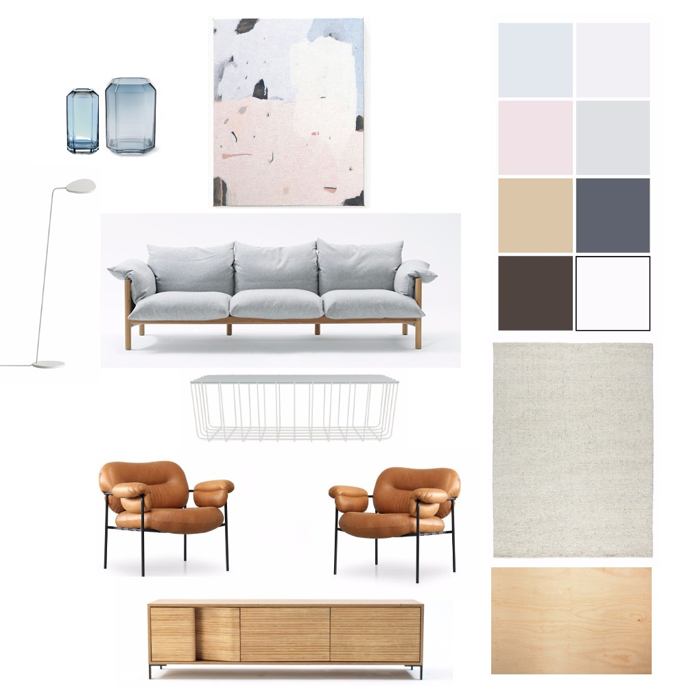 Interior Styling Mood Board by Silvia Roldan Interiors on Style Sourcebook