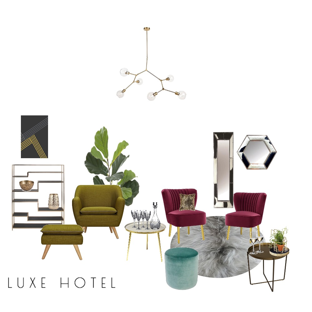 L U X E Mood Board by laurenglover on Style Sourcebook