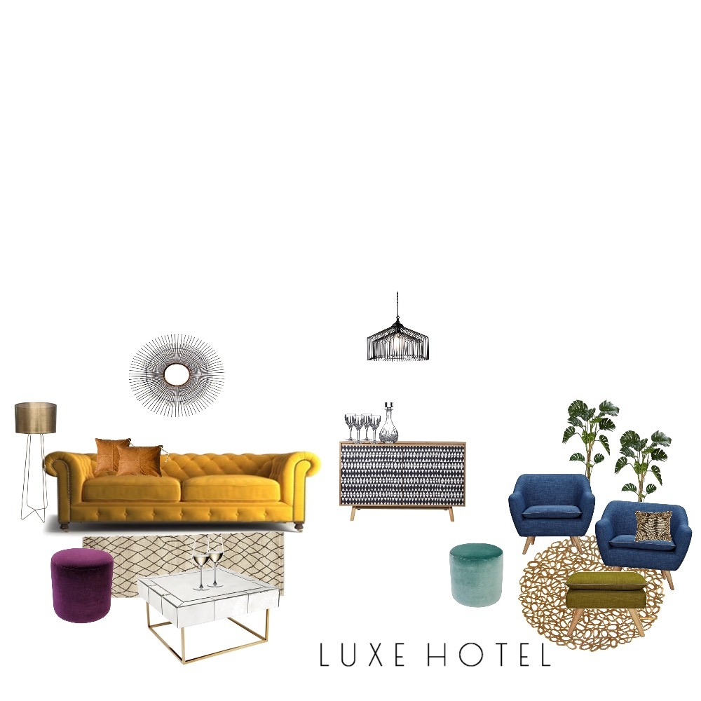 H O T E L   L U X E Mood Board by laurenglover on Style Sourcebook