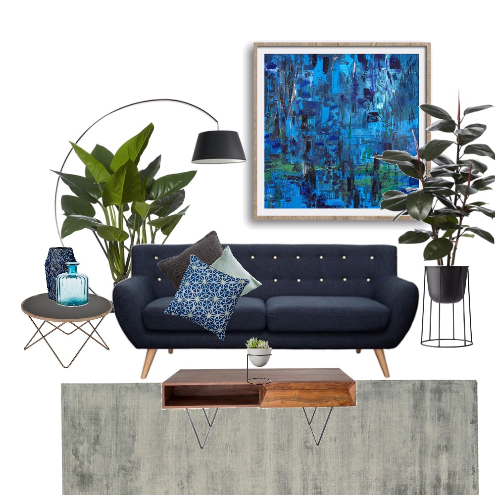 Blue & Green SHOULD be seen! Mood Board by Kaz Djordjevic Studio on Style Sourcebook