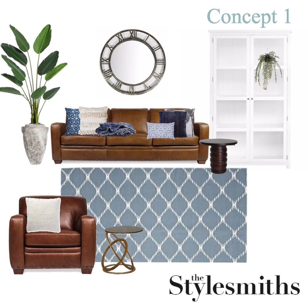 Prue- Lounge Room- Concept 1 Mood Board by indywilson on Style Sourcebook