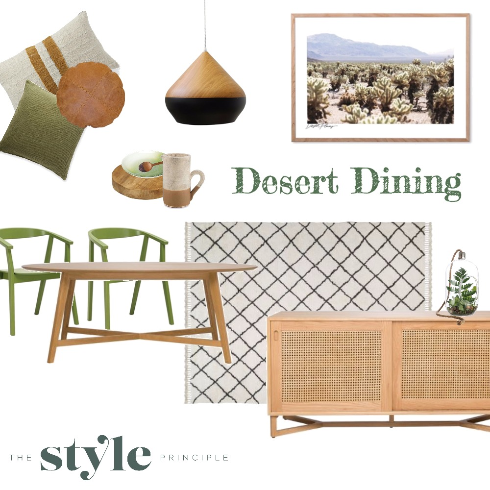 Desert Dining Mood Board by The_Style_Principle on Style Sourcebook