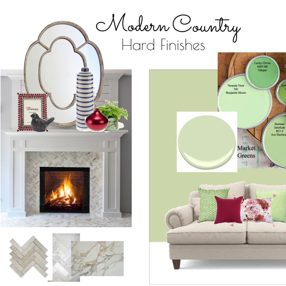 Modern Country Hard Finishes Interior Design Mood Board by Tara Watson on Style Sourcebook