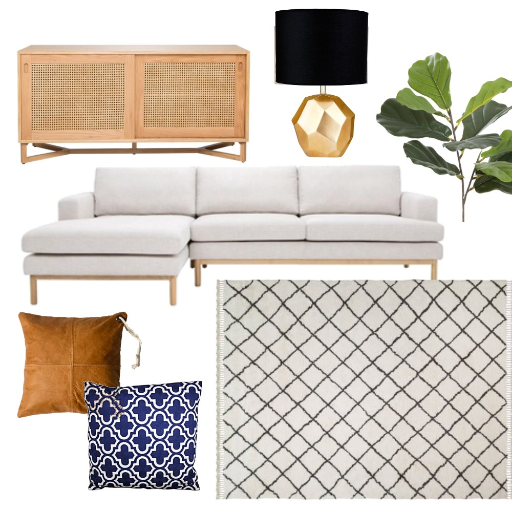 Moroccan Living Mood Board by The Leadership Designers on Style Sourcebook