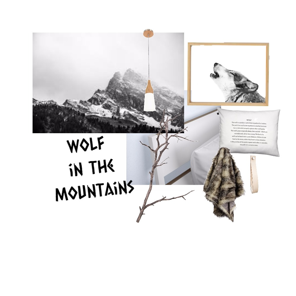 wolf room Mood Board by ZIINK on Style Sourcebook