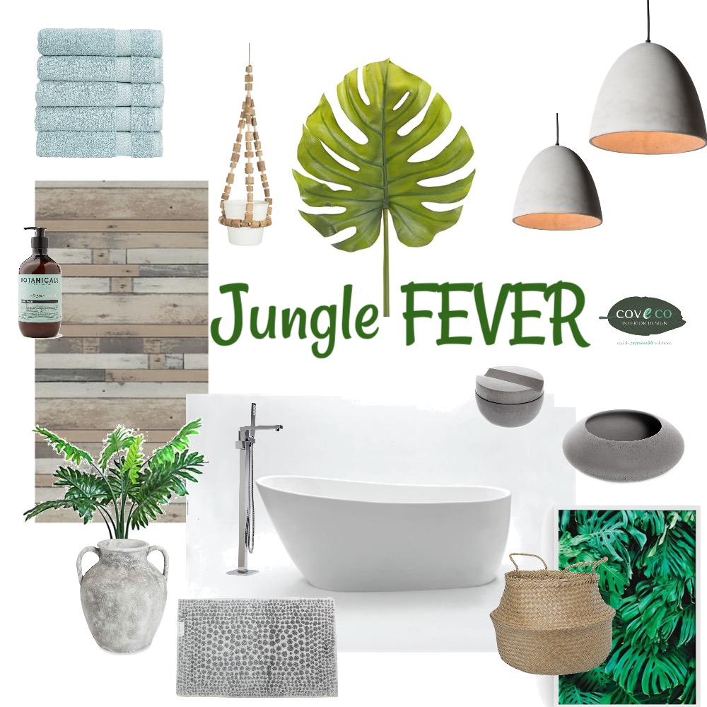 Jungle Fever Mood Board by Coveco Interior Design on Style Sourcebook