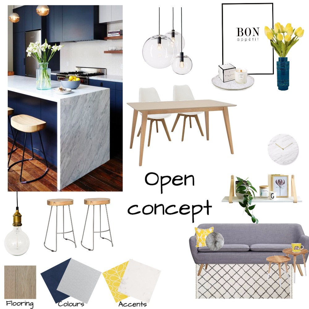 Open concept Mood Board by howsonh on Style Sourcebook