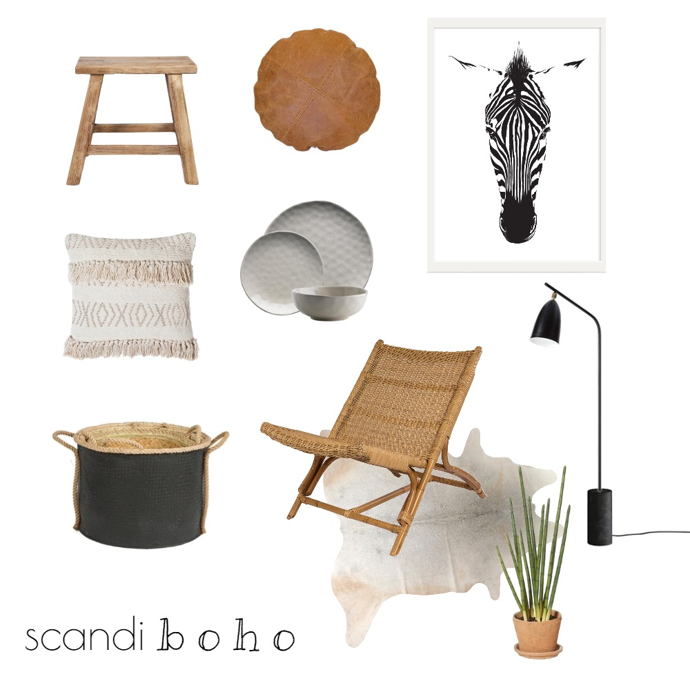 BOHO/MODERN Mood Board by Rebecca Kurka on Style Sourcebook