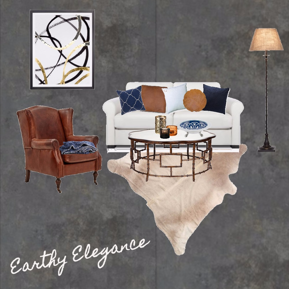 Lounge - Earthy Elegance Interior Design Mood Board by Tracy Meyer on Style Sourcebook