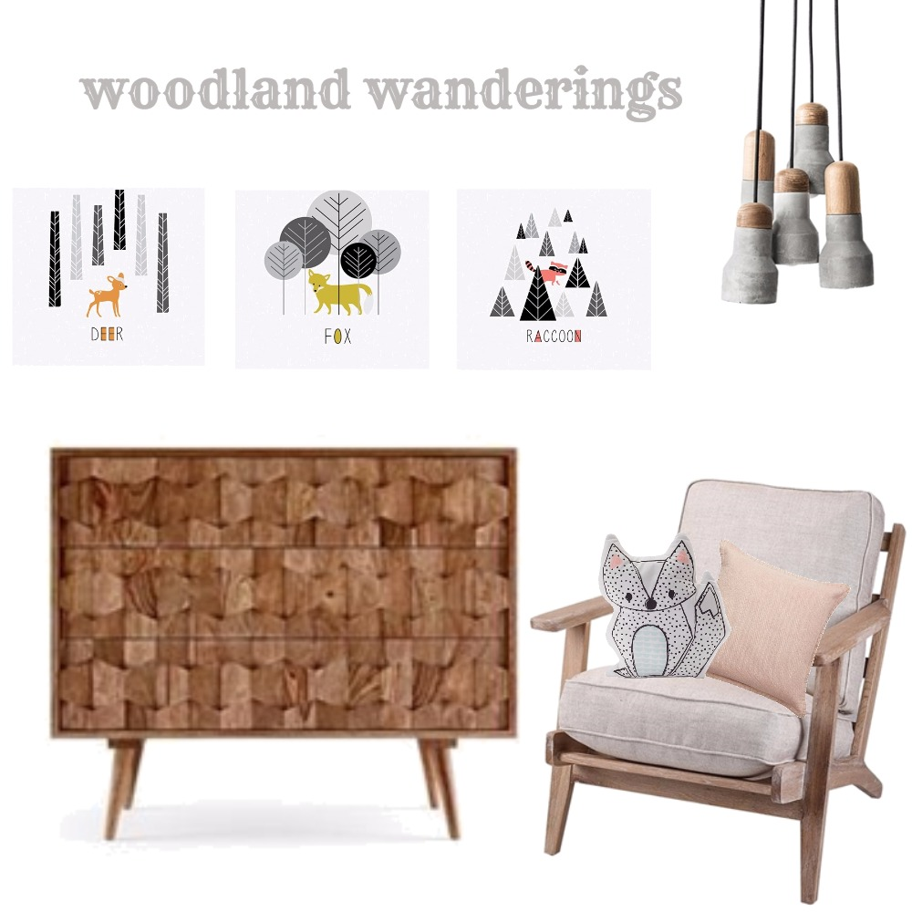 Childrens room - woodland wanderings Mood Board by Tracy Meyer on Style Sourcebook