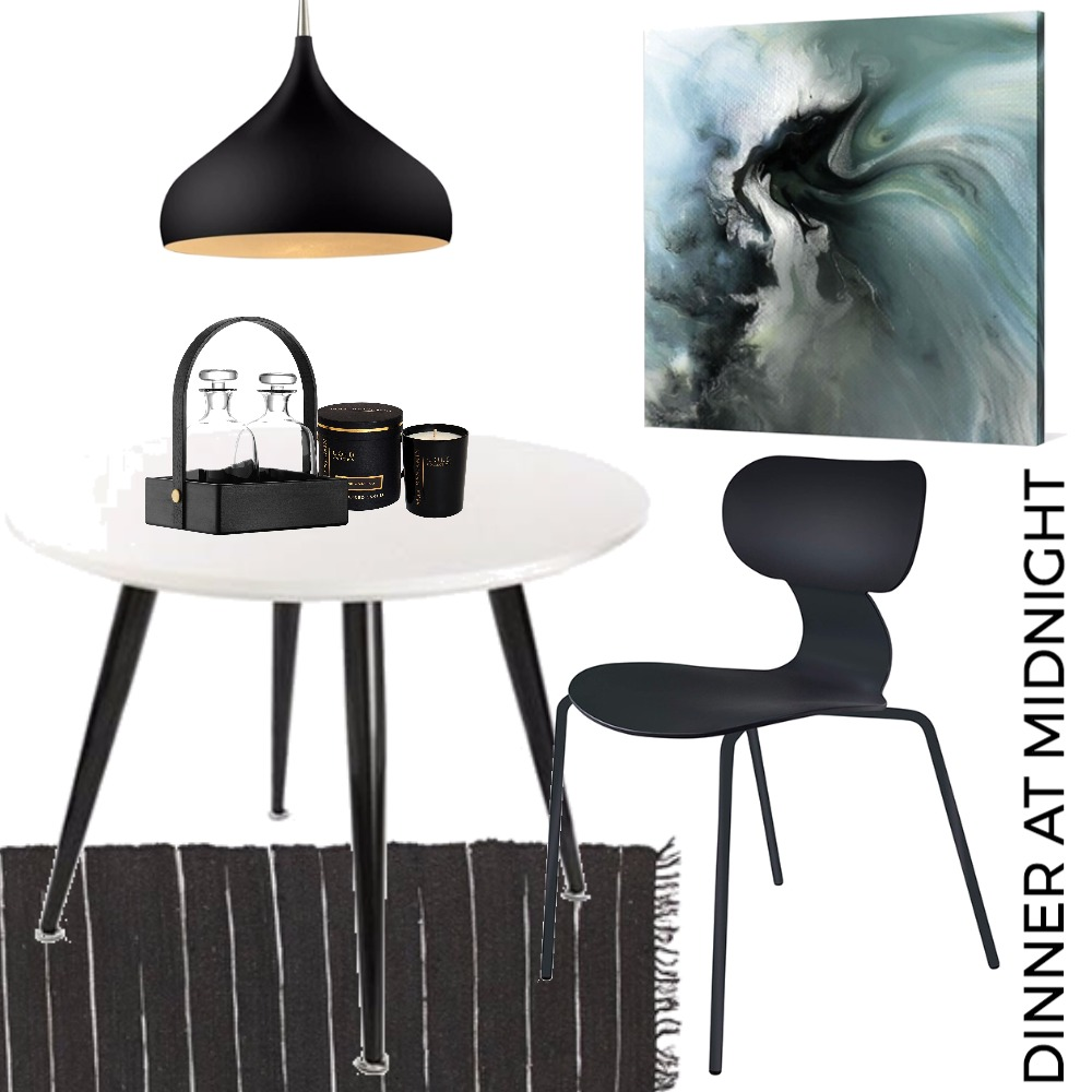 Dining Space - dinner at midnight Mood Board by Tracy Meyer on Style Sourcebook