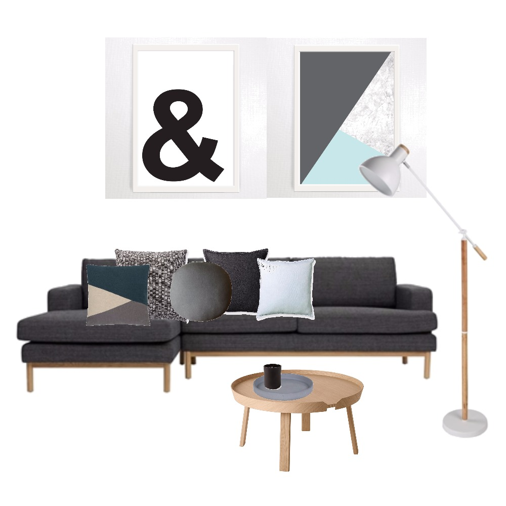 Living hints of blue Mood Board by Kirsty on Style Sourcebook