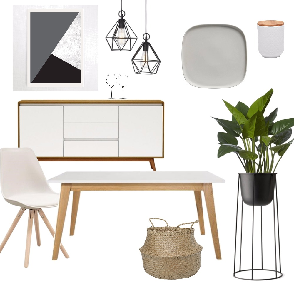Neutral dinning Mood Board by Kirsty on Style Sourcebook