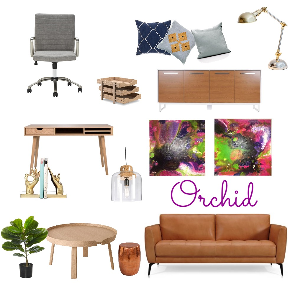 orchid Mood Board by artdesigncolour on Style Sourcebook