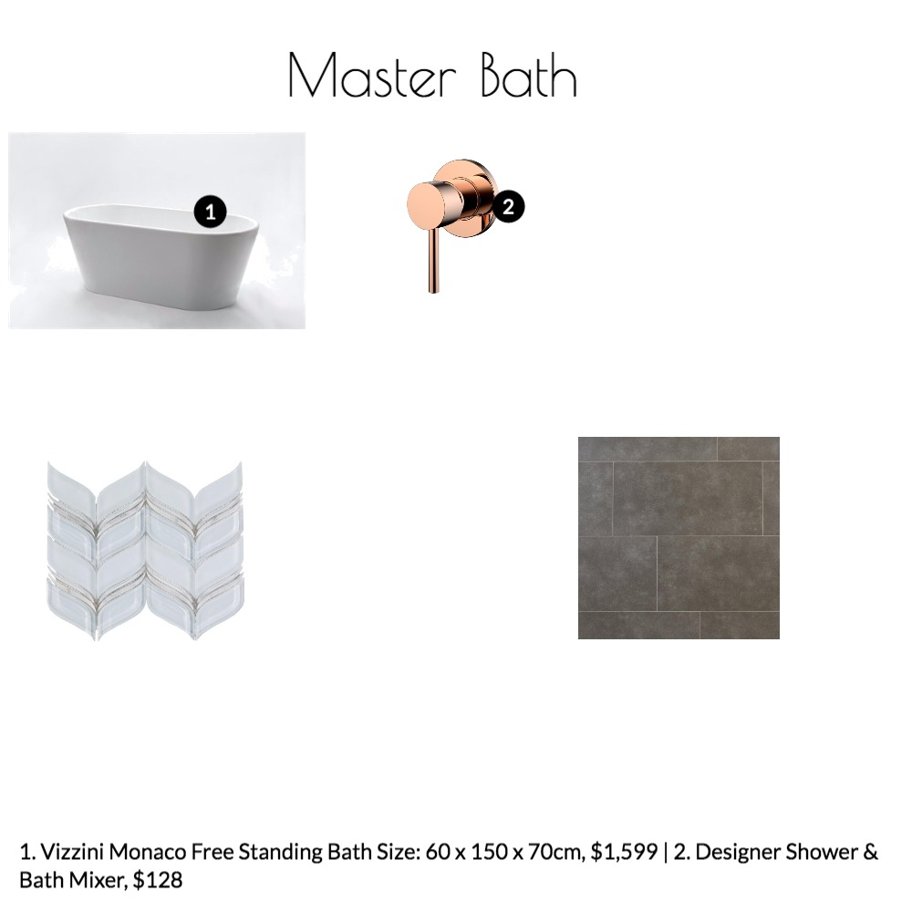 Master Bath Mood Board by emilypeele on Style Sourcebook