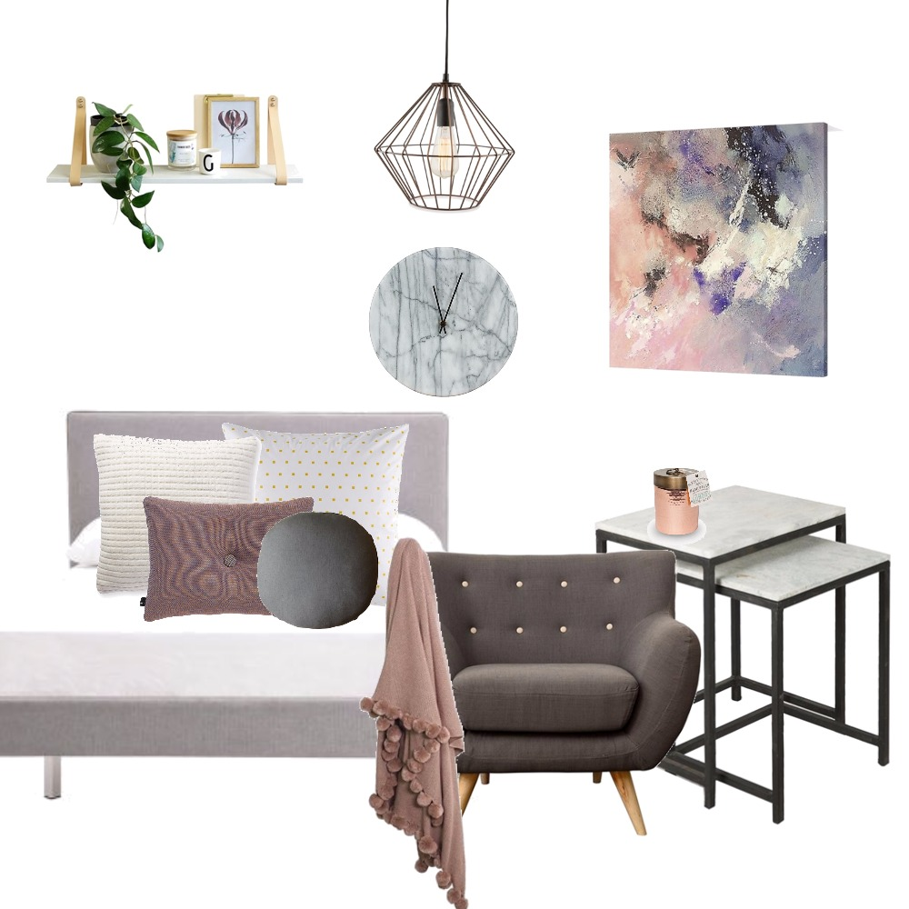 Bedroom blush Mood Board by Kirsty on Style Sourcebook