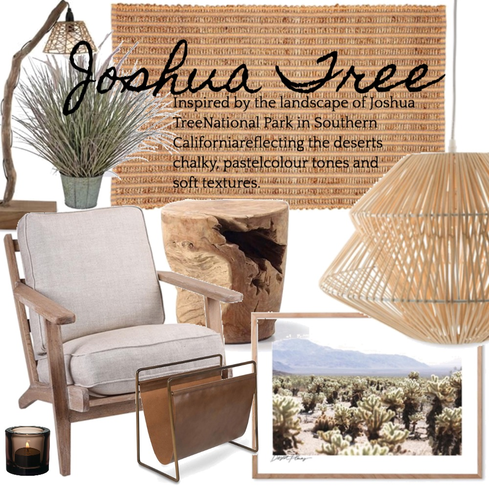 Joshua Tree Mood Board by Silvergrove Homewares on Style Sourcebook