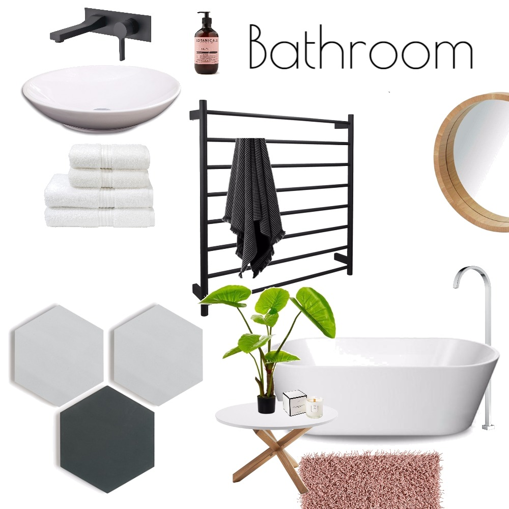 Bathroom Mood Board by tiadriessen on Style Sourcebook