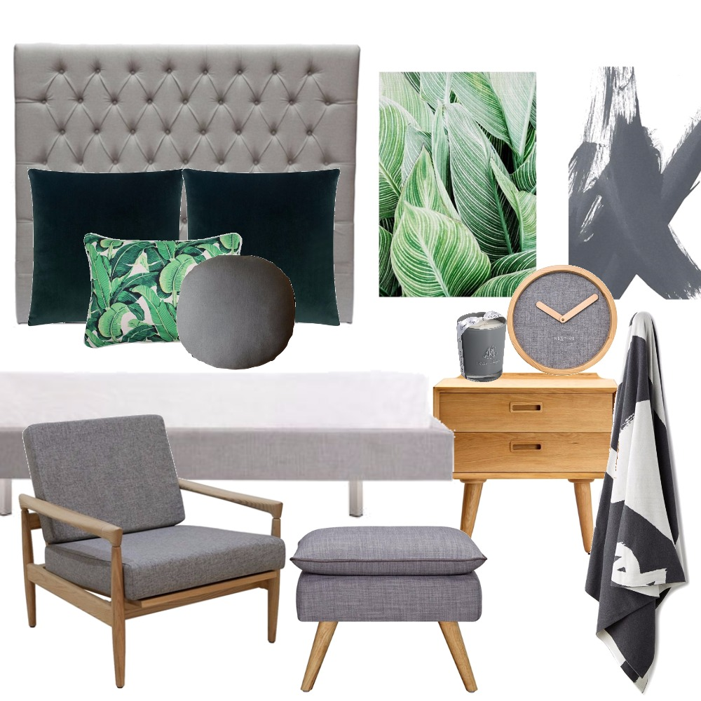 Green bedroom Mood Board by Kirsty on Style Sourcebook