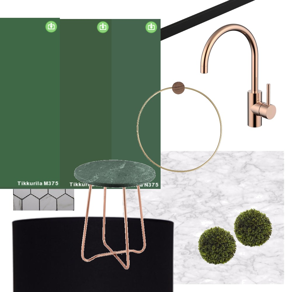 white bathroom with color samples Mood Board by afterworkdiy on Style Sourcebook