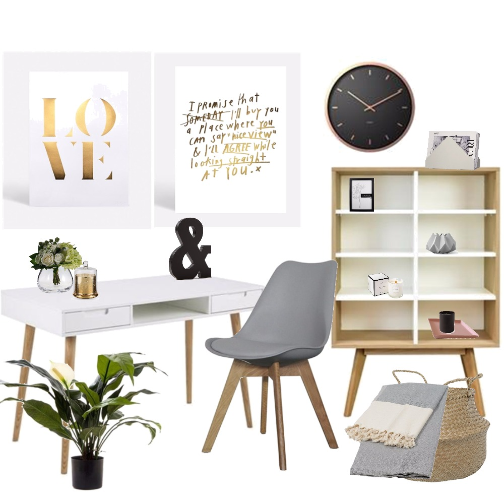 scandi study Mood Board by Kirsty on Style Sourcebook