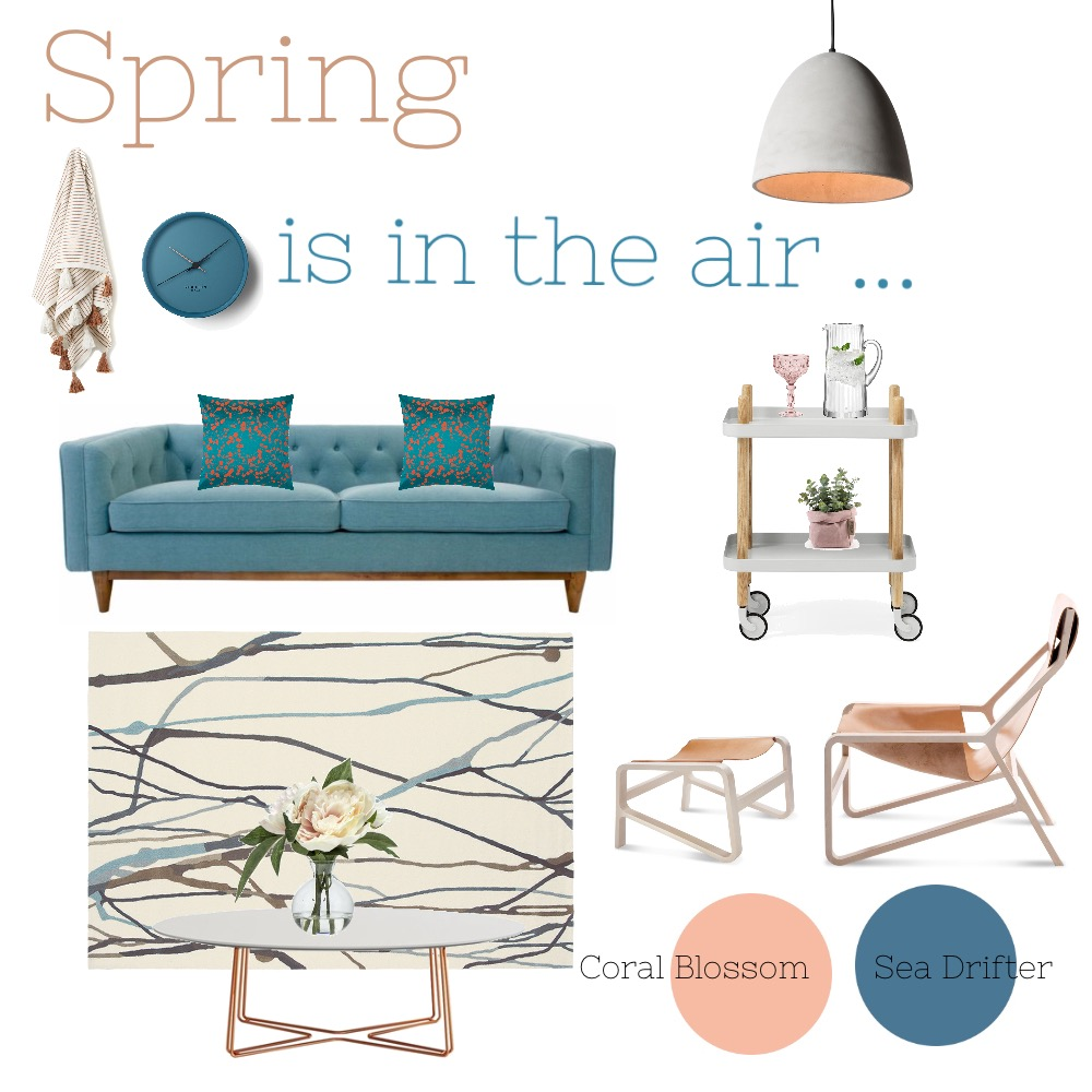 Spring is in the air Mood Board by Coveco Interior Design on Style Sourcebook
