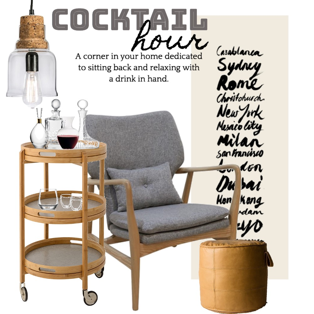Cocktail hour Mood Board by Silvergrove Homewares on Style Sourcebook