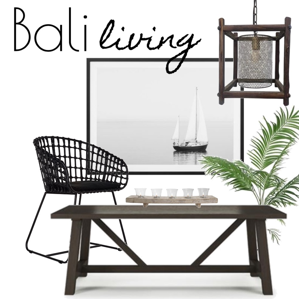Bali Living Mood Board by Silvergrove Homewares on Style Sourcebook
