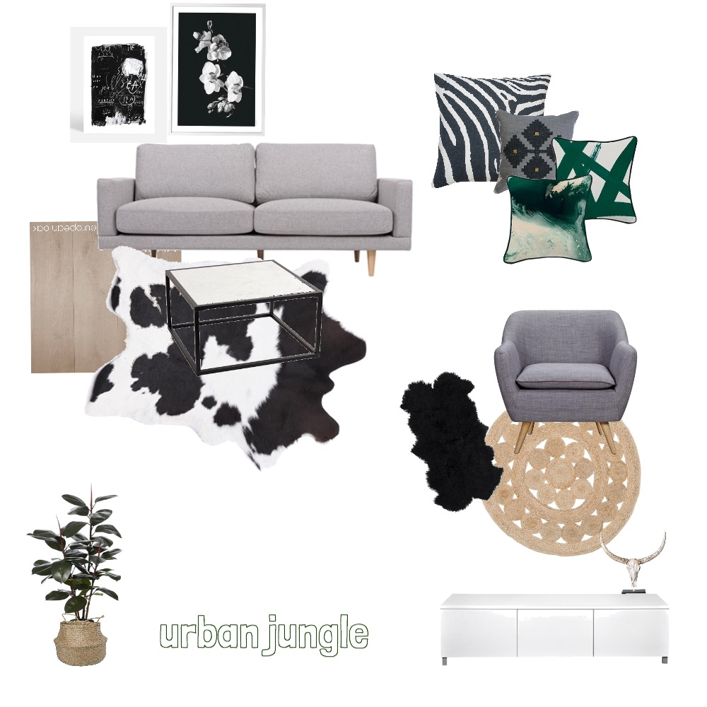 urban jungle Mood Board by AshaB on Style Sourcebook