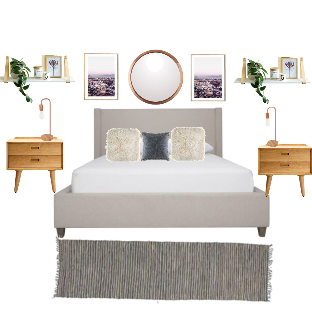 Bedroom Make Over Layout Interior Design Mood Board by mywaythestyledway on Style Sourcebook