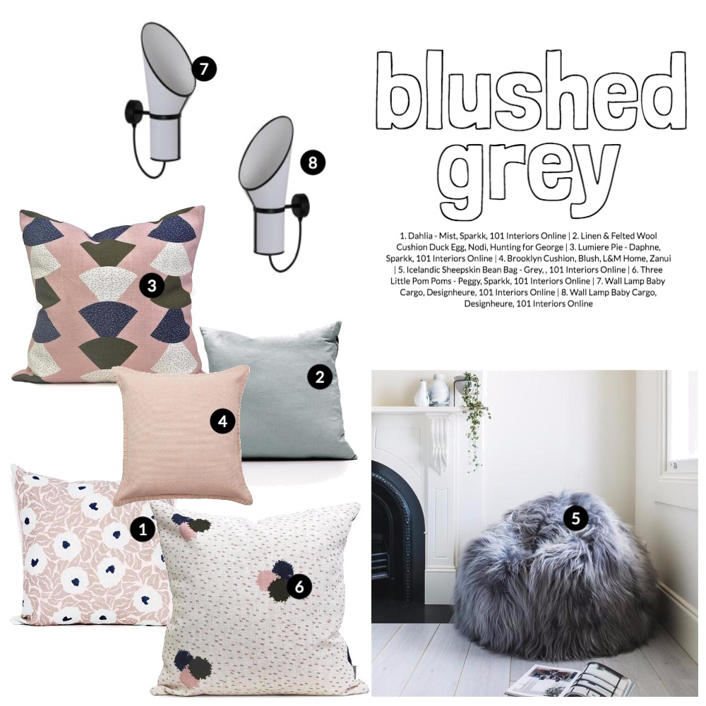 Blushed Grey Mood Board by 101 Interiors Online on Style Sourcebook