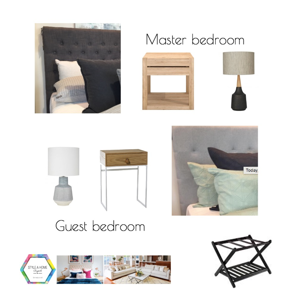 Guest Bedroom No 2 Mood Board by Ladymarmaladestyling on Style Sourcebook