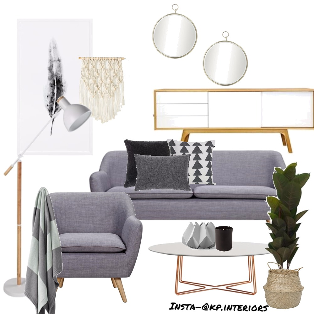 Scandi Living Mood Board by Kirsty on Style Sourcebook