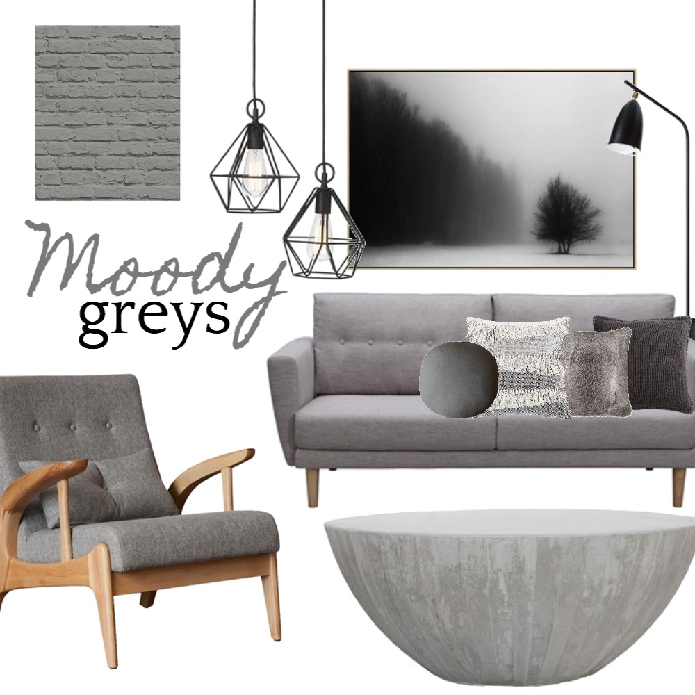 Moody Greys Mood Board by Silvergrove Homewares on Style Sourcebook
