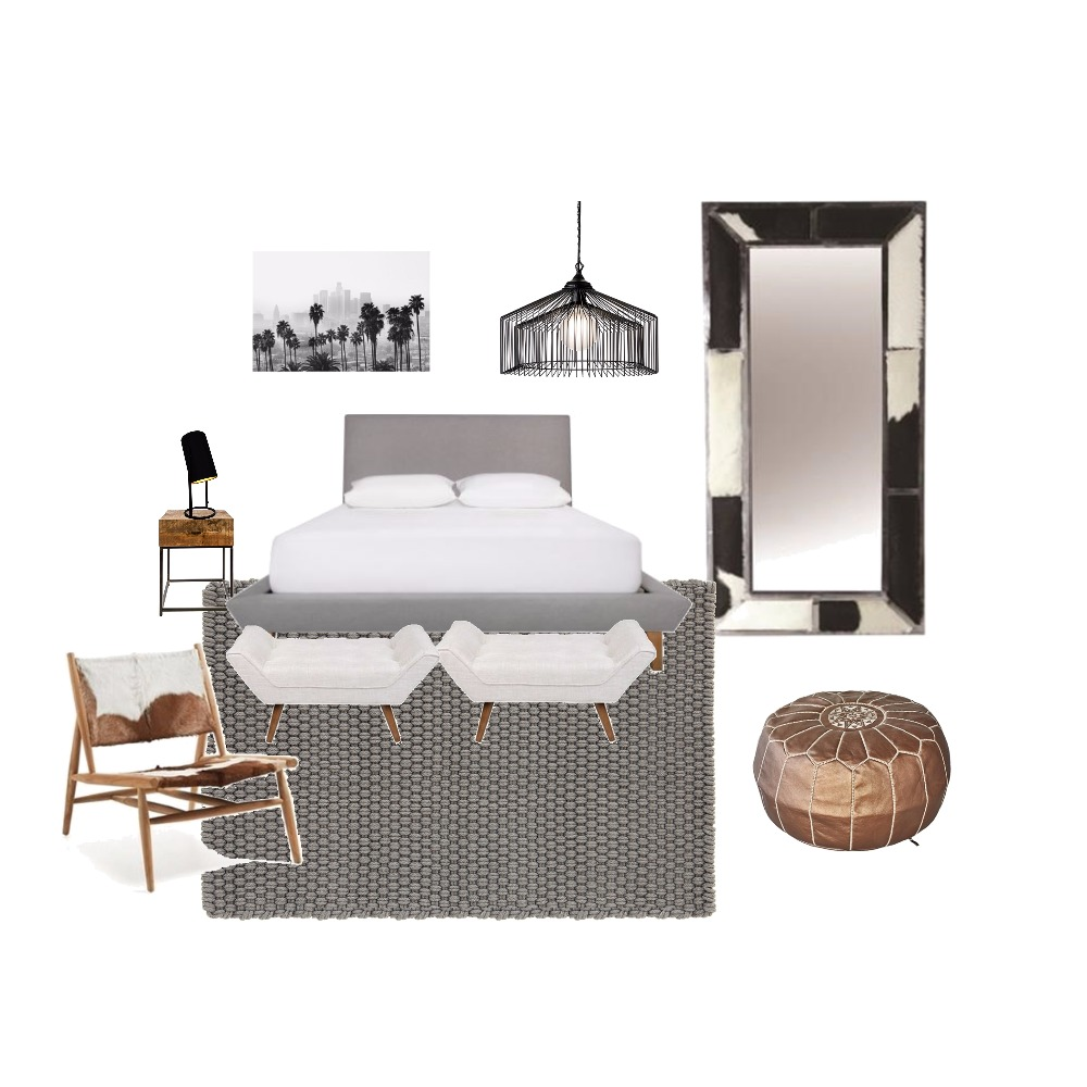 Eclectic style bedroom Interior Design Mood Board by Myhub on Style Sourcebook