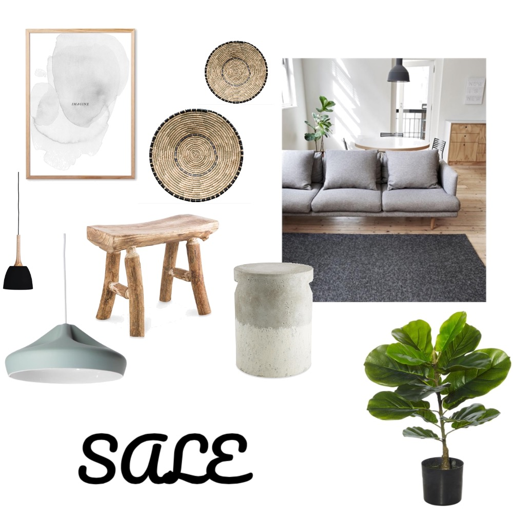 Neutral Living Mood Board by fields_of_emme on Style Sourcebook