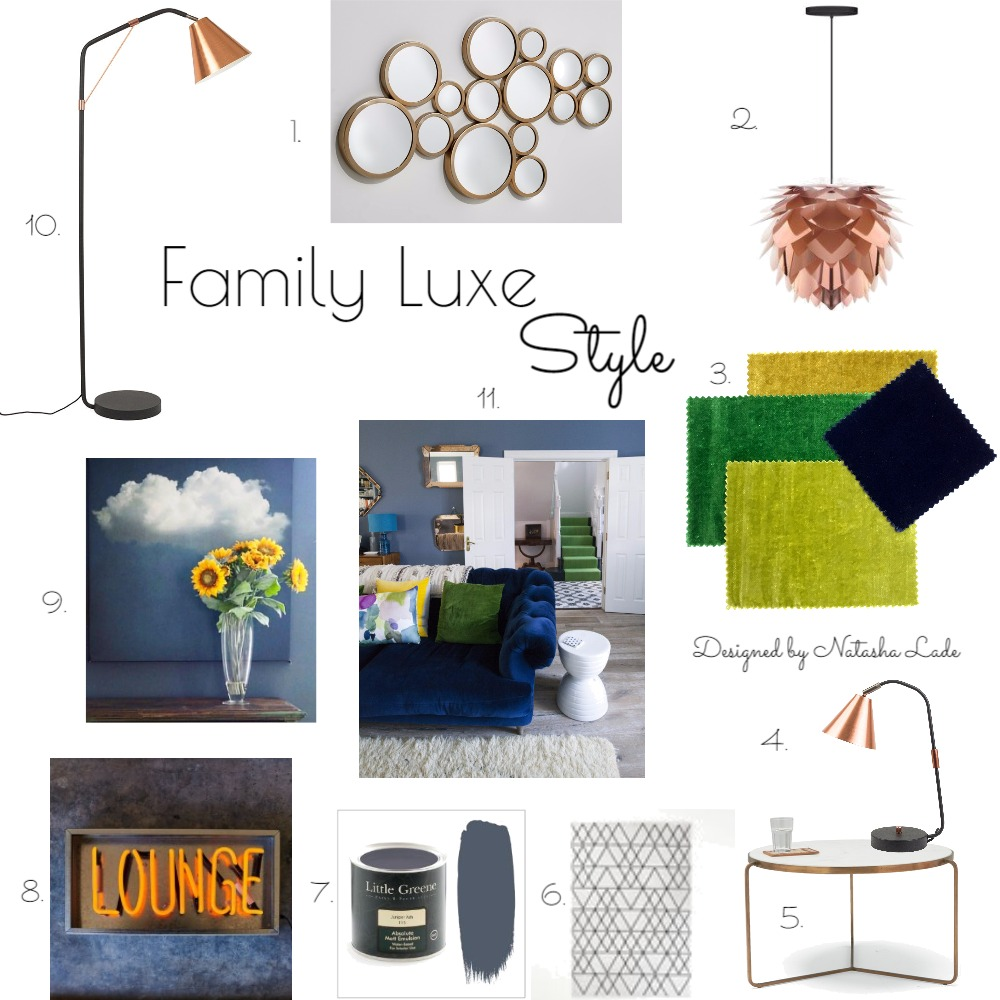 Family Luxe Style Mood Board by NatashaLade on Style Sourcebook