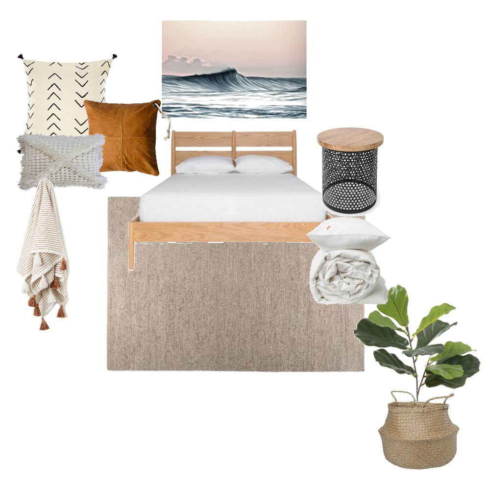 Guest Bedroom Mood Board by jessicaannlouise on Style Sourcebook