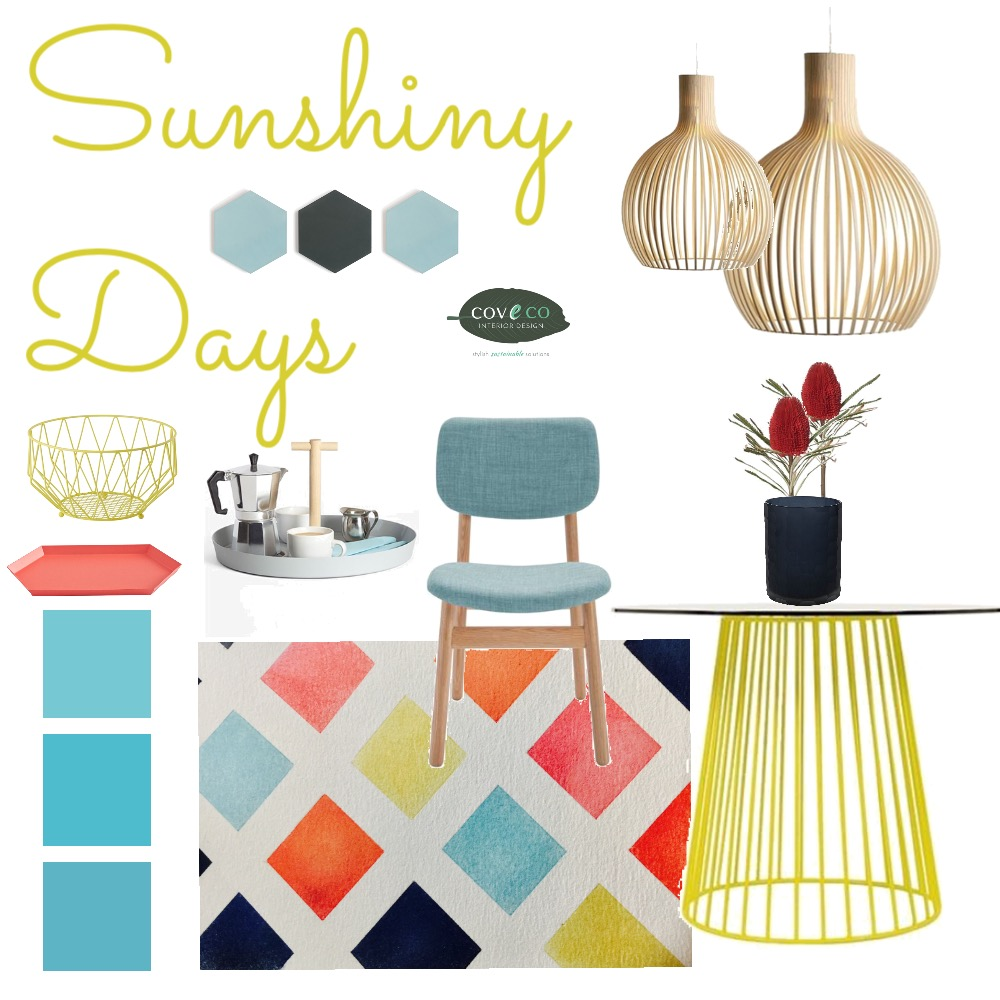 Sunshiny Days Mood Board by Coveco Interior Design on Style Sourcebook