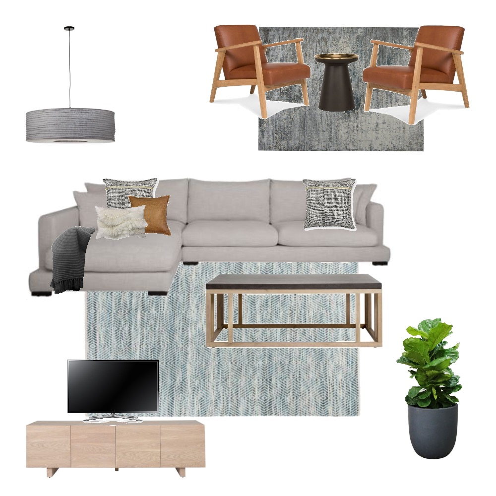 Mid Century Modern Lounge Room Mood Board by CBInteriorDesign on Style Sourcebook