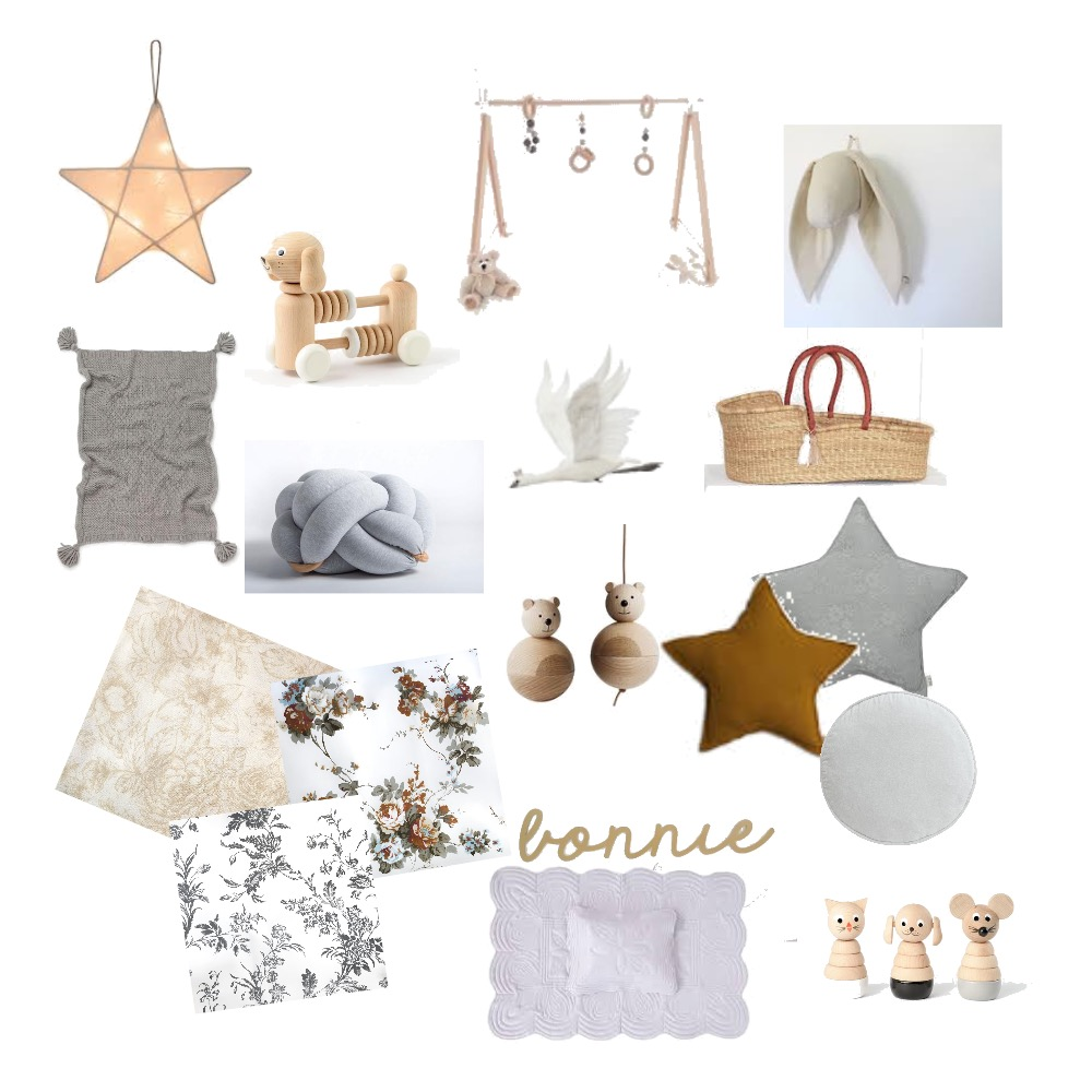 Nursery Styling Elements Mood Board by srussell on Style Sourcebook