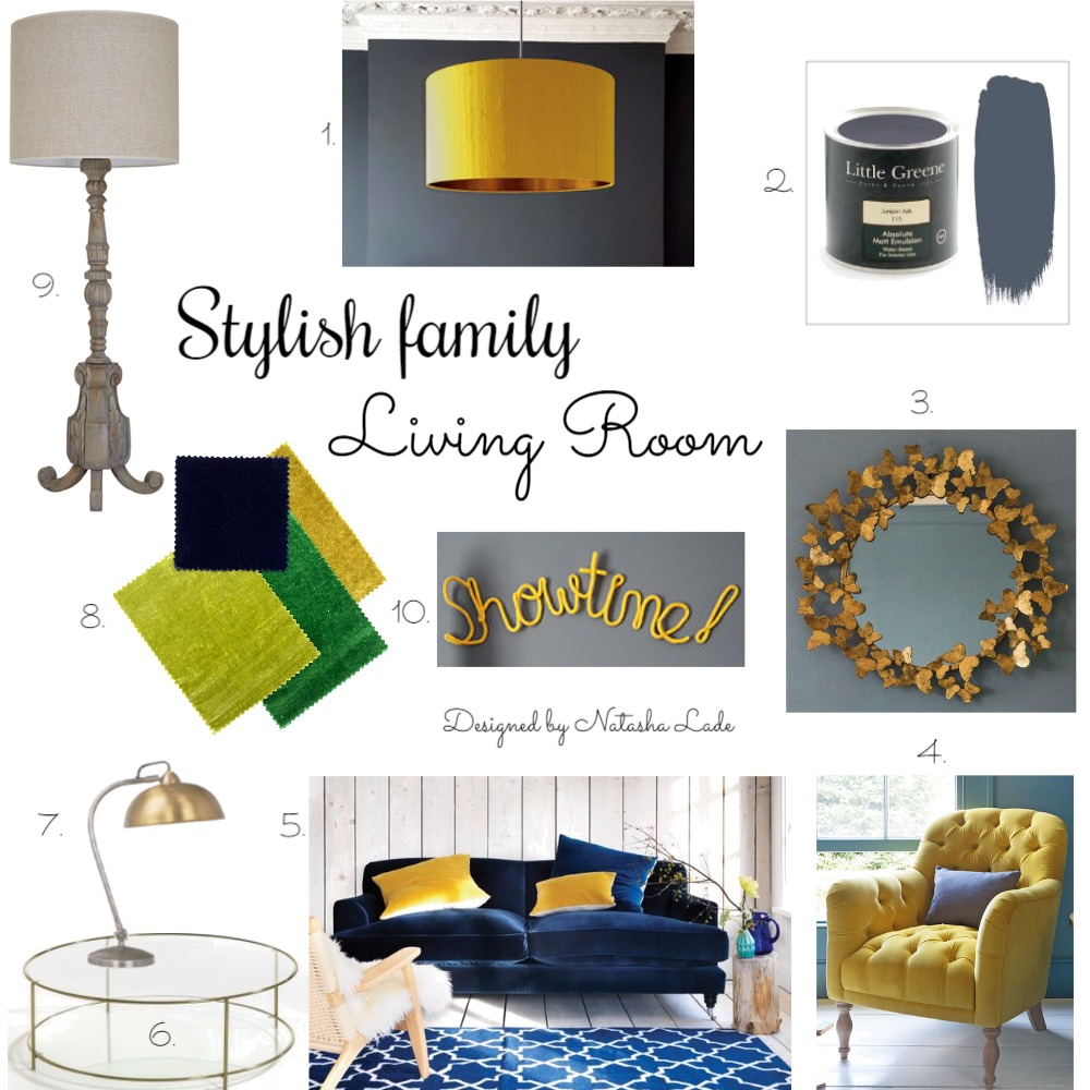 Stylish family living room Mood Board by NatashaLade on Style Sourcebook