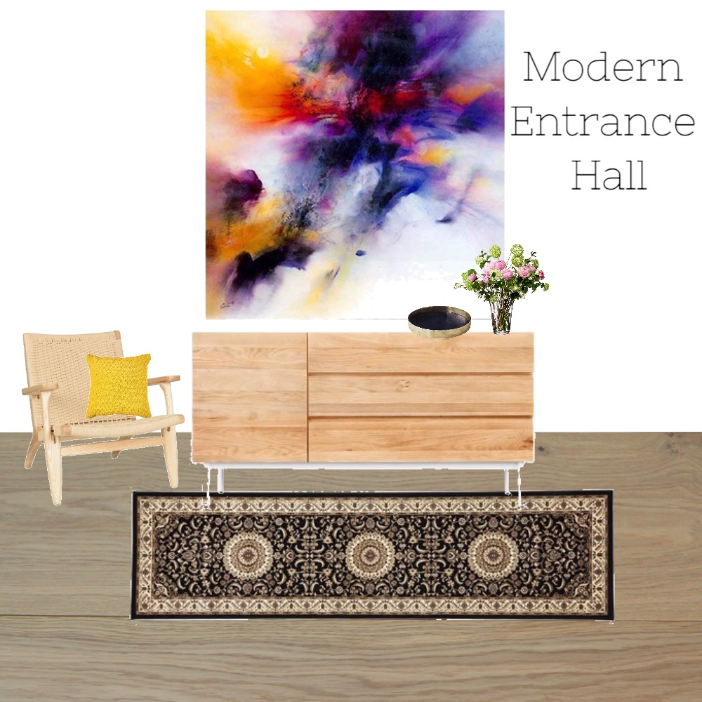 Modern Entrance Hall Mood Board by Nonceba Nyoni on Style Sourcebook
