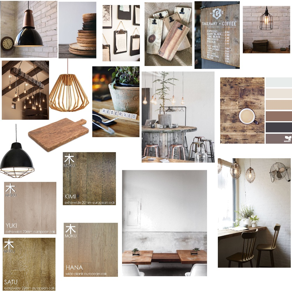 Country rustic cafe Mood Board by sophie__k1 on Style Sourcebook