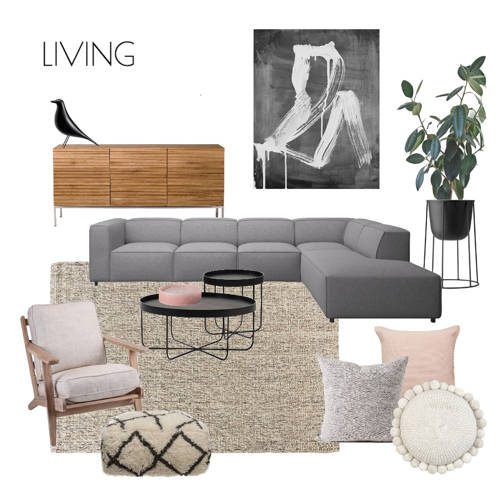 Herbert Living Mood Board by Emma on Style Sourcebook